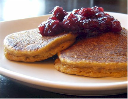 Thanksgiving Leftovers Recipes: Dairy-Free Pumpkin Pancakes