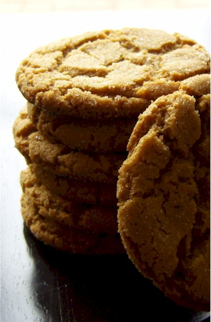 Dairy-Free Molasses Gingersnap Cookies