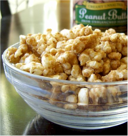Peanut Butter Cinnamon Rice Cake Crumbles