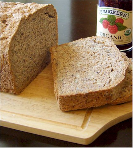 Hearty Dairy-Free German Style Whole Grain Bread