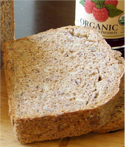 German-Style Hearty Dairy-Free Whole Wheat / Spelt Bread