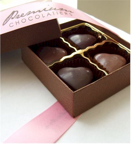 Premium Chocolatier's Boxed Chocolates