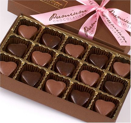 Premium Chocolatiers Valentine's Chocolate