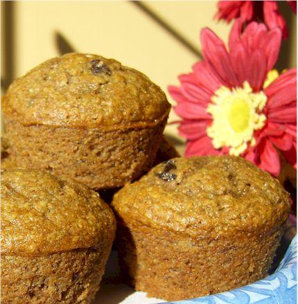 dairy-free banana wheat muffins