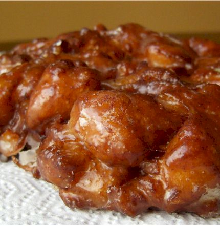 Vegan Apple Fritter