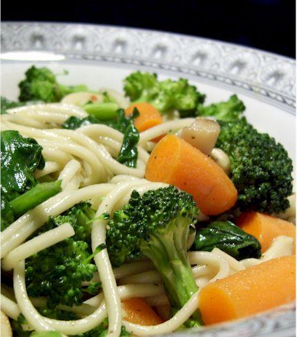 Easy Veggie Udon
