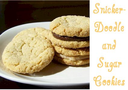 snickerdoodles & sugar cookies