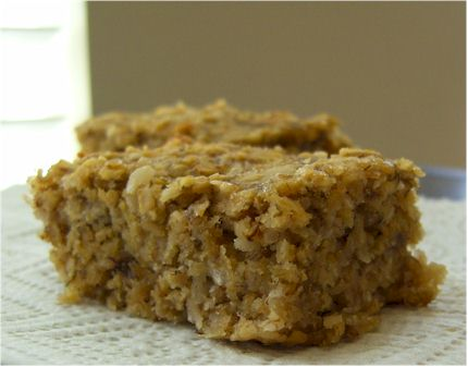 Banana-Oat Superdad Snack Bars (Dairy-Free)