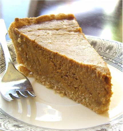 Delicious Dairy-Free Soy-Free Pumpkin Pie