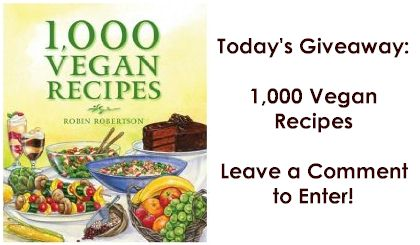 1000 vegan recipe giveaway