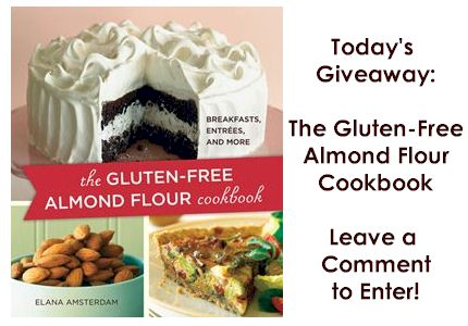 almond flour cookbook giveaway