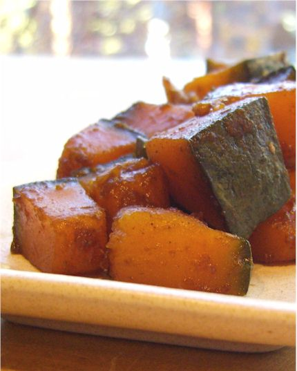 asian-spiced sweet kabocha (vegan and gluten-free)