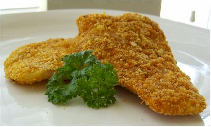 "Dairy-Free Oven ""Fried"" Fish"