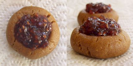 PB & J Thumbprints - Vegan, Dairy-Free, Gluten-Free, Soy-Free - your choice!