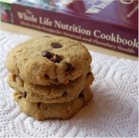 gluten-free vegan maple cashew cookies