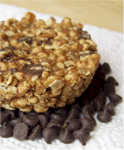 Chocolate Chip Flax 'n Oat Bars - Vegan, Dairy-Free, Gluten-Free