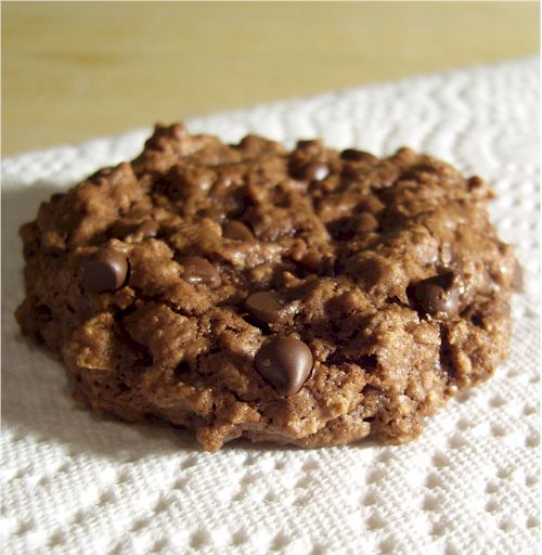 chocolate explosion oatmeal cookie