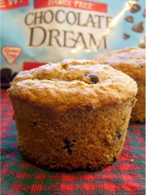 ... from the Go Dairy Free kitchen » Oatmeal Chocolate Chip Muffins
