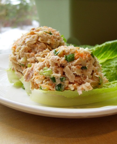 Wild tuna salad from the gluten free diner alisa cooks for Tuna fish salad recipe with egg