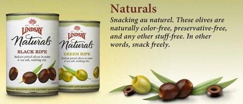 Lindsay Olive Naturals - No preservatives