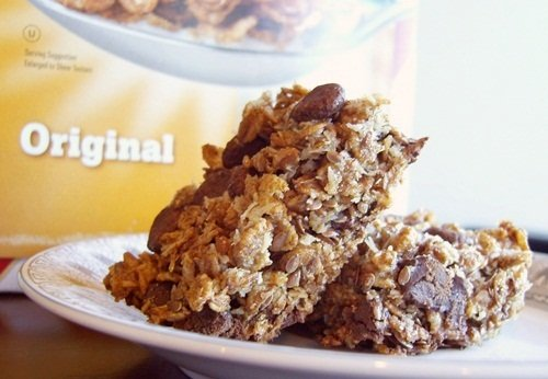 Chewy Chocolate Chip Whole Grain Cereal Bars - Dairy-Free