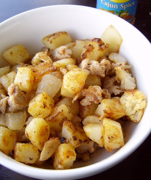Cajun Potato Skillet
