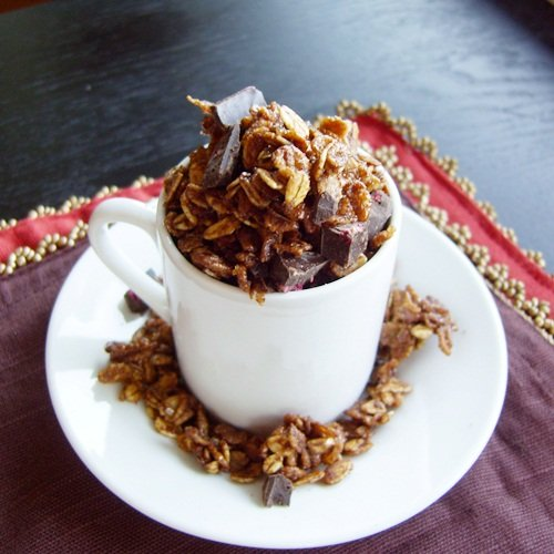 Chocolate Granola - Nut-Free, Vegan, optionally Soy-Free