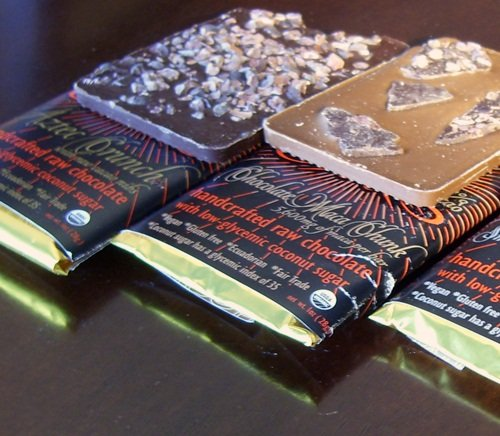 Lulu's Raw Vegan Chocolate Bars - Sweetened with Coconut Sugar and Soy-Free