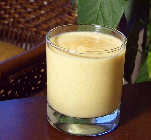 Dairy-Free Holiday Spice Milkshake - Healthy, Vegan, Gluten-Free, Pumpkin, Pecan, Squash