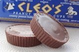 Go Max Go Vegan Candy Bars - Cleo's Peanut Butter Cups and Snap! Milk Chocolate Crunch Bars
