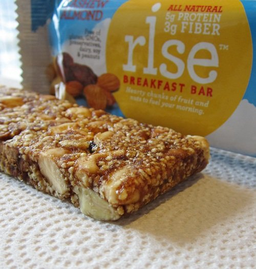 Rise Dairy-Free and Gluten-Free Breakfast and Energy+ Bars