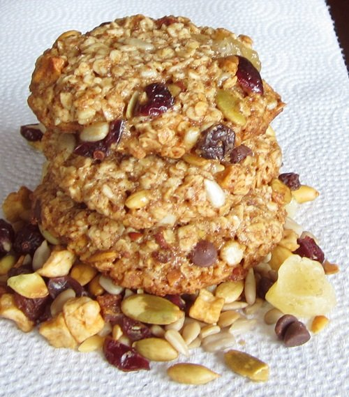 Allergen-Free Trail Mix Cookies