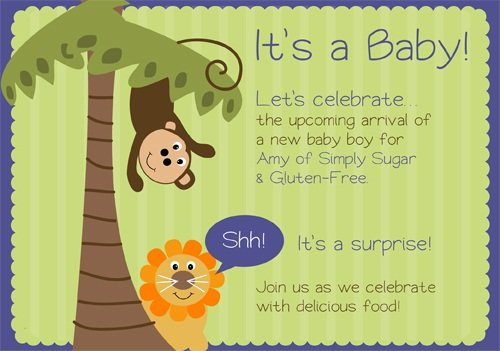 Surprise Baby Shower for Amy of Simply Sugar & Gluten Free
