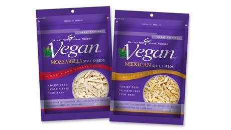 Galaxy Nutritional Foods - Vegan Shredded Cheese Alternative - Dairy-Free, Soy-Free