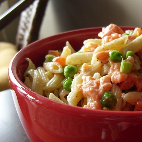 ... Recipes from the Go Dairy Free kitchen » Smoked Salmon Pasta Salad