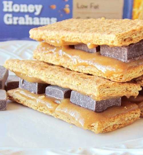 Healthy Dairy-Free Cheesecake Grahamwiches